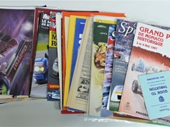 Navigate to Motor racing brochures.