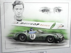 Navigate to Jim Clark and the DBR1.