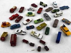 Navigate to Matchbox model cars