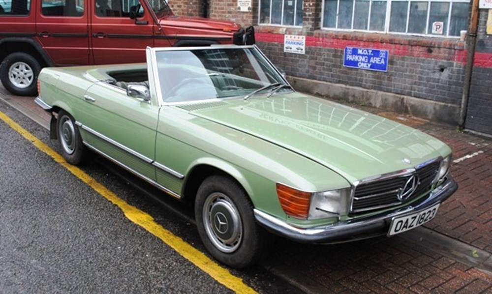 Lot 444 - 1973 Mercedes-Benz 350SL Roadster