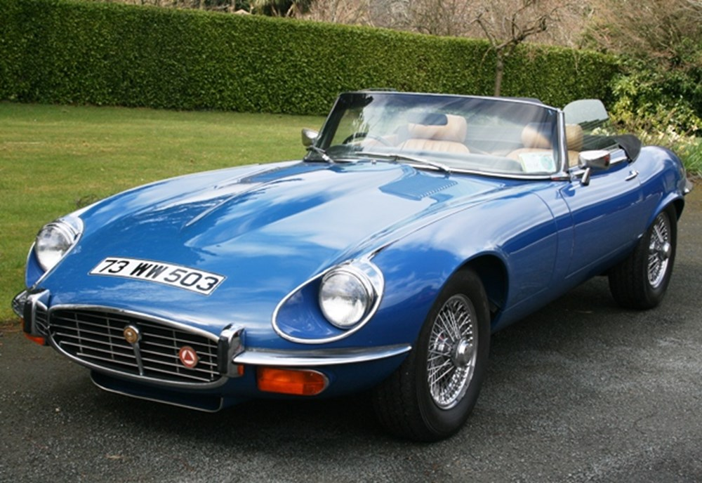 Lot 248 - 1973 12947 E-Type Series III Roadster