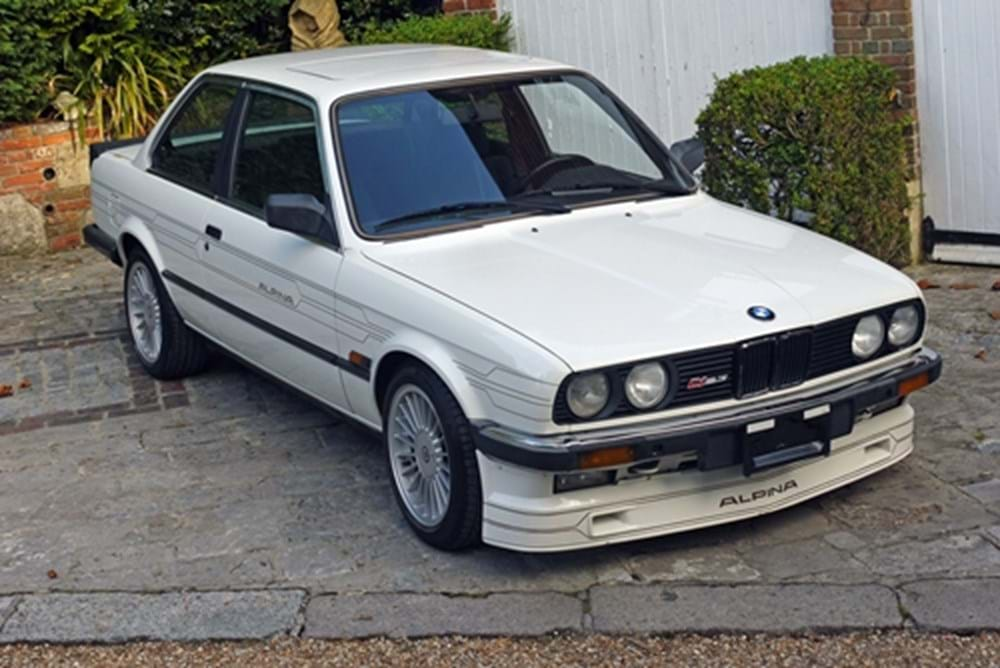 Lot 324 - 1986 BMW E30 C1 Alpina
