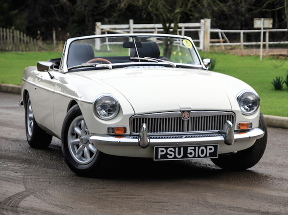 Lot 237 - 1976 MG B Roadster