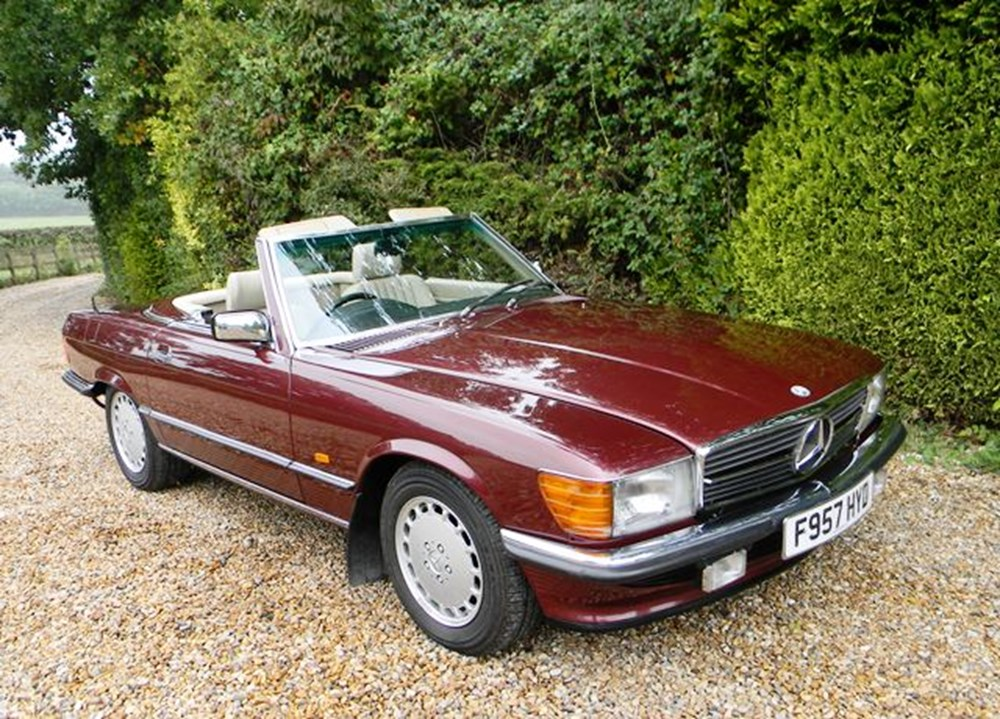 Lot 222 - 1988 12987 300SL Roadster