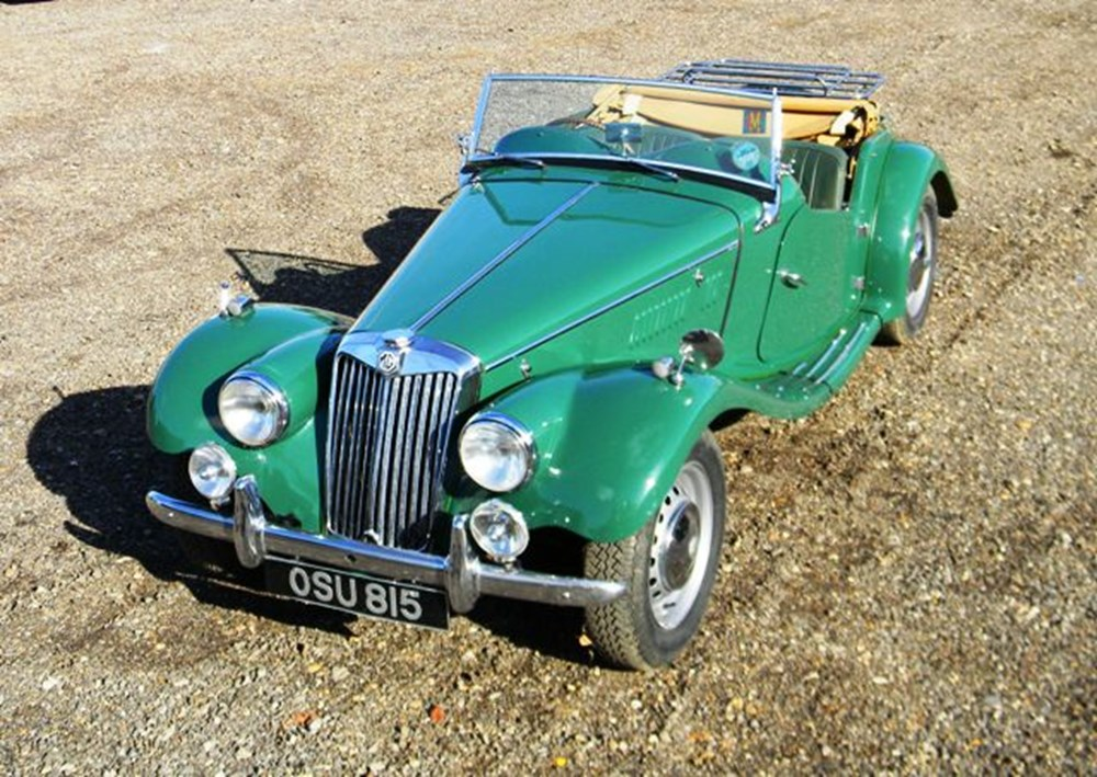 Lot 238 - 1954 MG TF