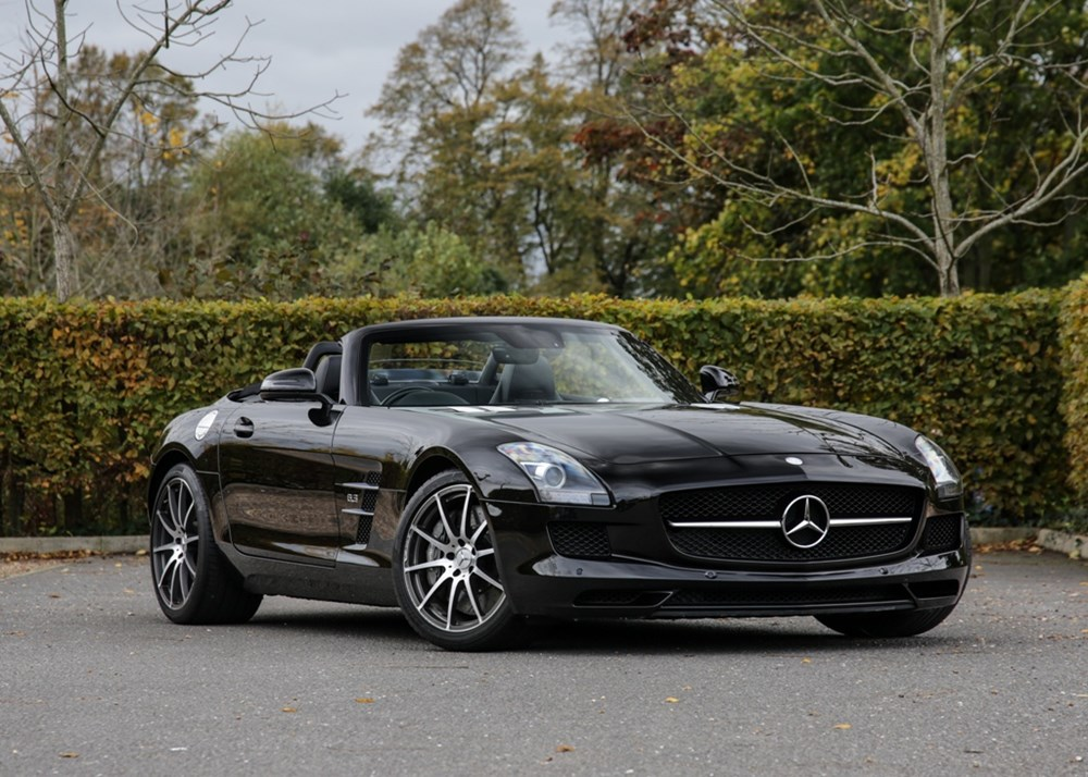 Lot 157 - 2013 Mercedes-Benz SLS Roadster (6.3 litre)