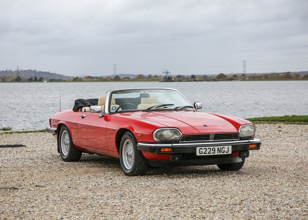 Lot 294 - 1990 Jaguar XJS Convertible (5.3 litre)