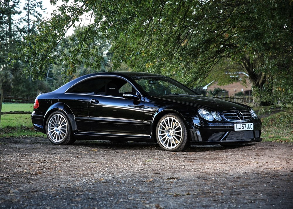 Lot 273 - 2008 Mercedes-Benz CLK63 AMG Black