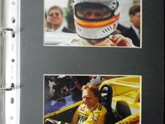 Navigate to Signed photos of racing drivers