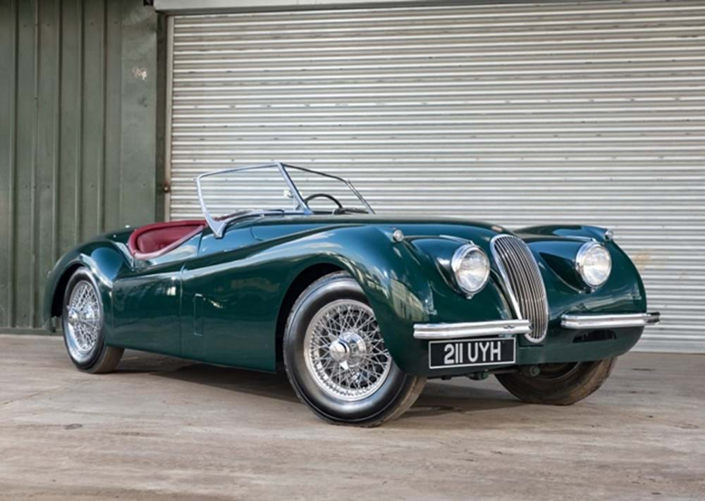 Lot 181 - 1954 Jaguar XK120SE Roadster