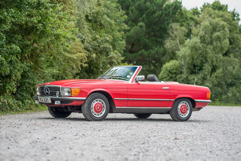 Lot 223 - 1983 Mercedes-Benz 280 SL Roadster