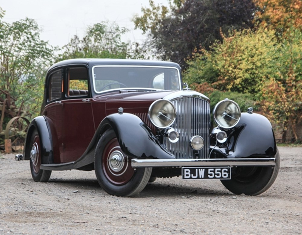 Lot 216 - 1936 Bentley 4¼ litre Saloon by Park Ward