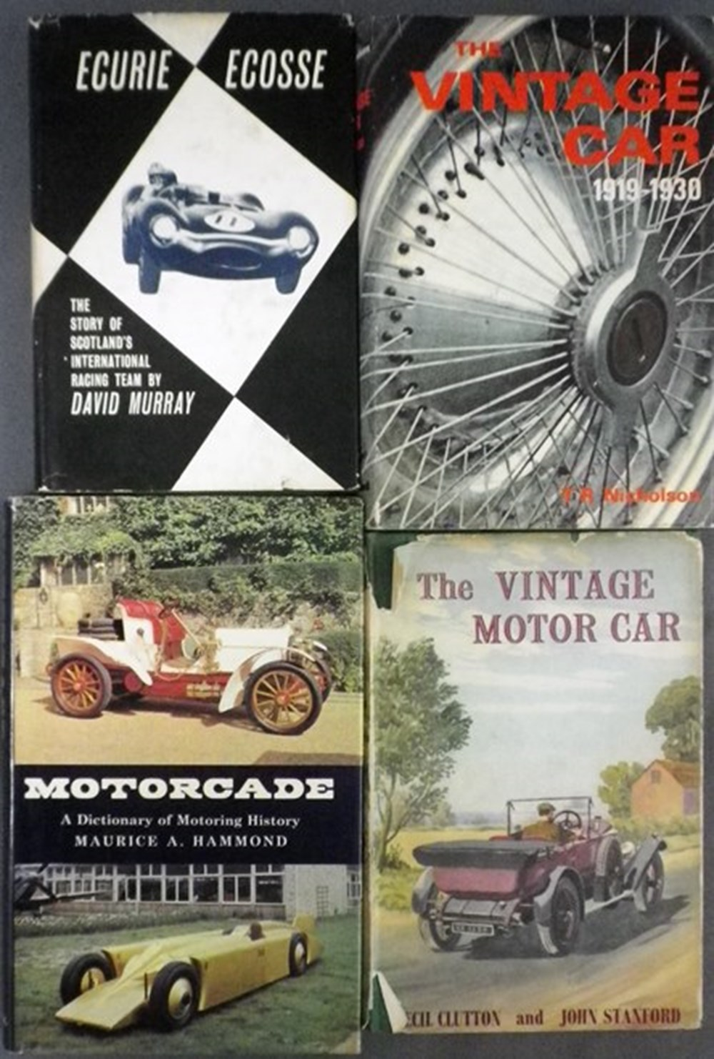 Lot 50 - Twelve motoring books.