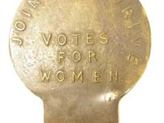Navigate to Suffragettes badge.