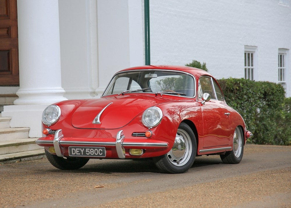 Lot 291 - 1964 Porsche 356C Coupé