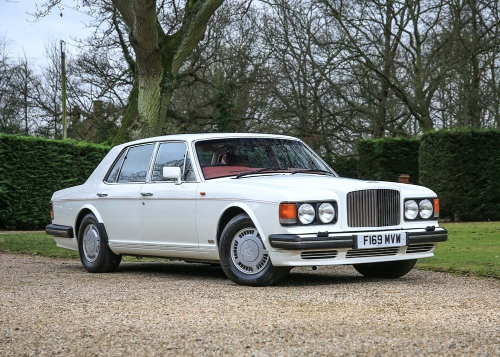 Lot 215 - 1989 Bentley Turbo R