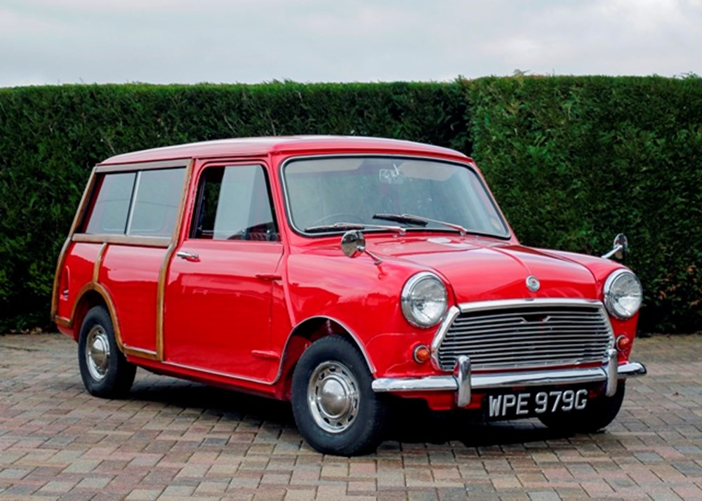 Lot 138 - 1969 Morris Mini Traveller 'Woody'