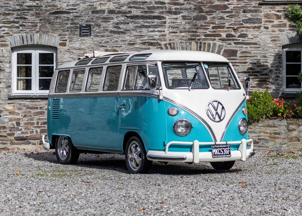 Lot 197 - 1967  Volkswagen Samba Split Screen T1 21 Window Camper