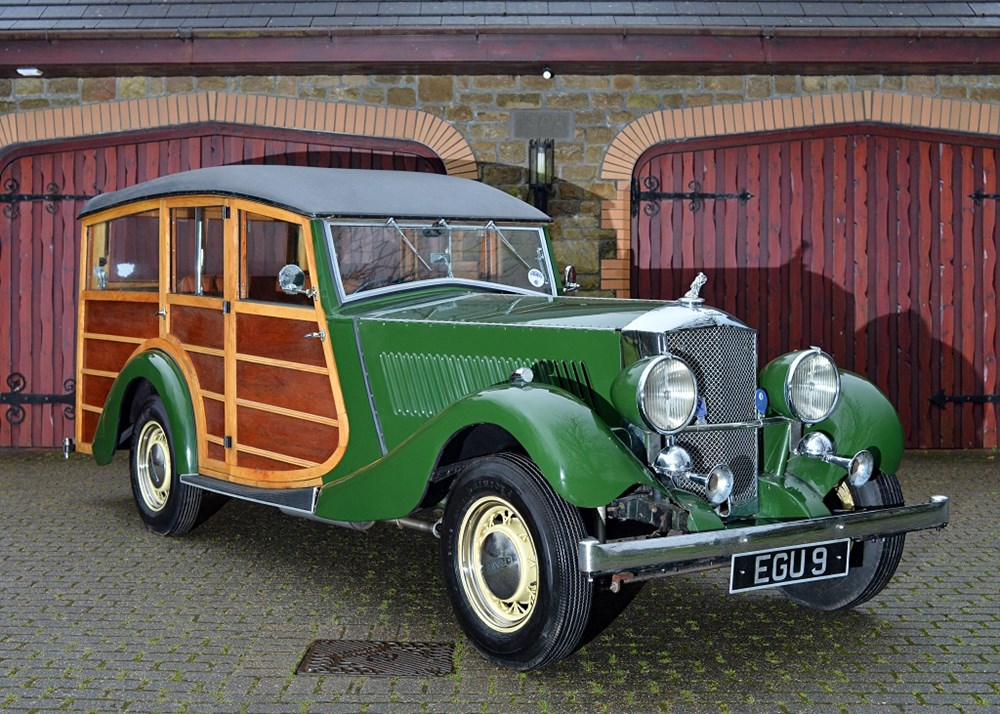 Lot 316 - 1935 Railton Eight 'Woody' Estate Car