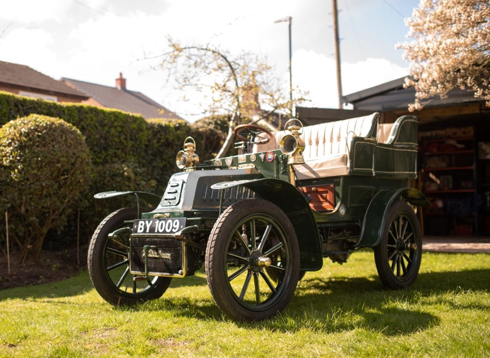 Lot 249 - 1908 De Dion-Bouton AL2 8hp Rear Entrance Tonneau