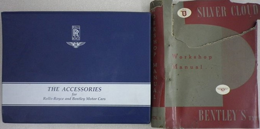 Lot 14 - Rolls-Royce workshop manual