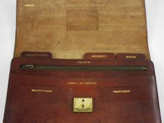 Navigate to Fiat Leather Document Case and other items