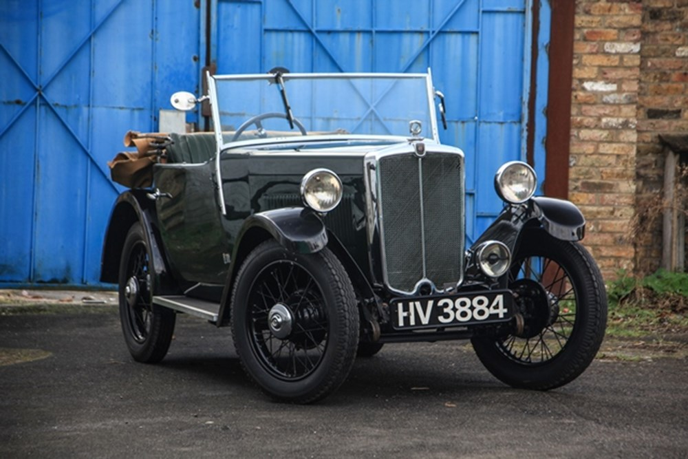 Lot 230 - 1934 Morris Minor Two-Seater Tourer
