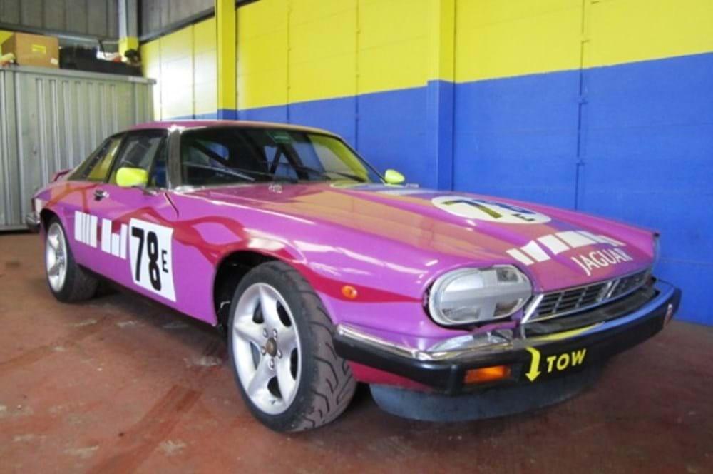 1986 Jaguar XJS Silk Cut Racing Car