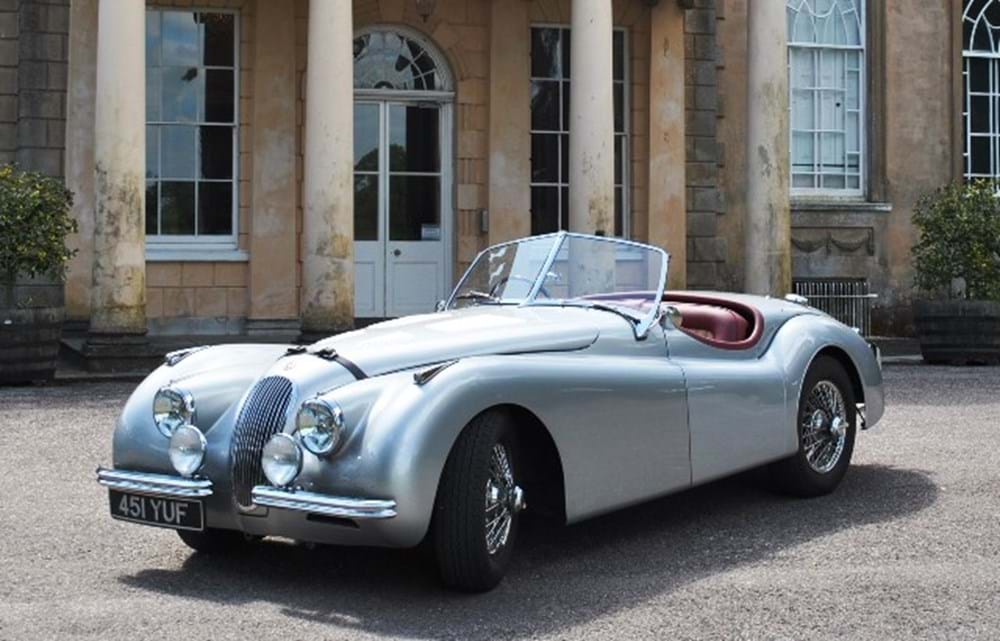Lot 256 - 1954 Jaguar XK120 SE Roadster