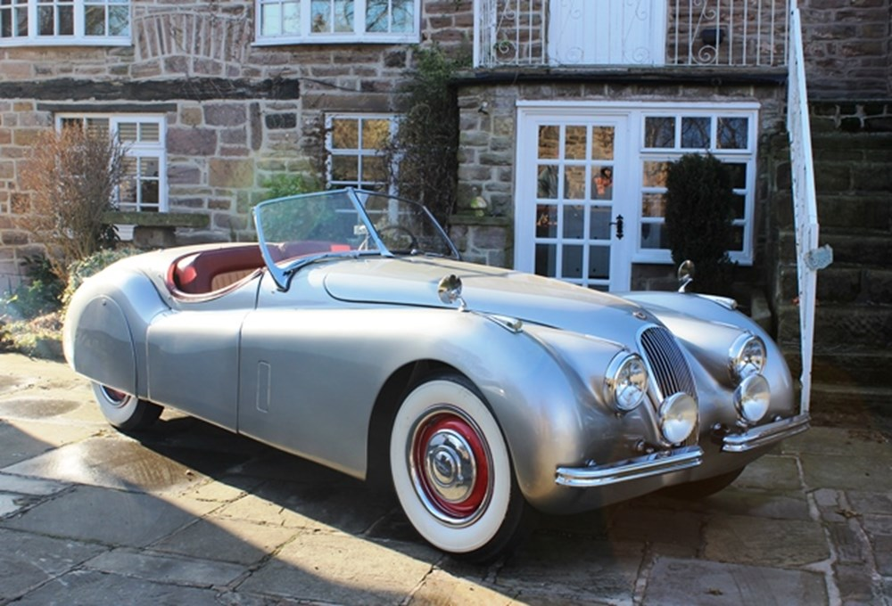 Lot 274 - 1953 Jaguar XK120 Roadster