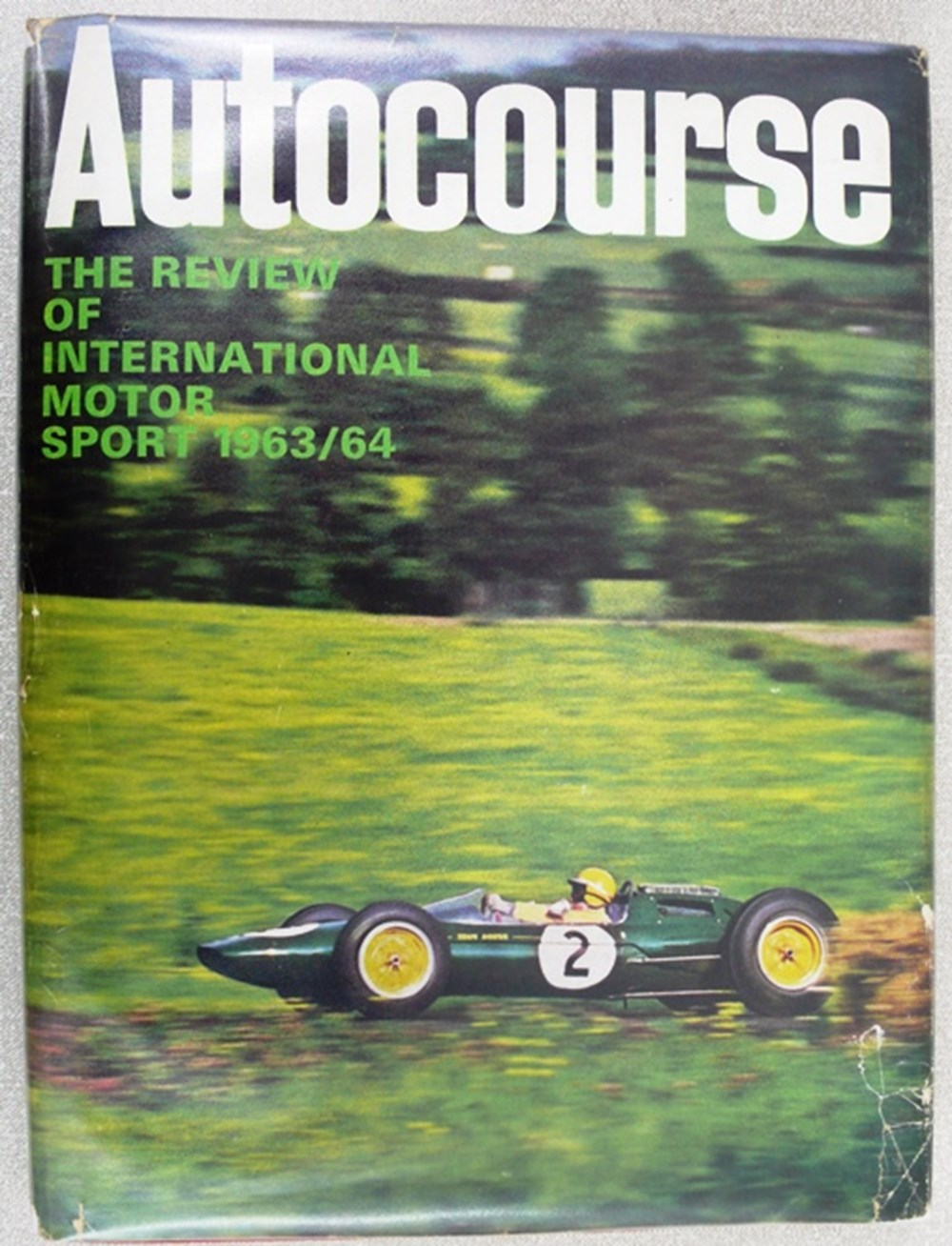 Lot 014 - Autocourse yearbooks