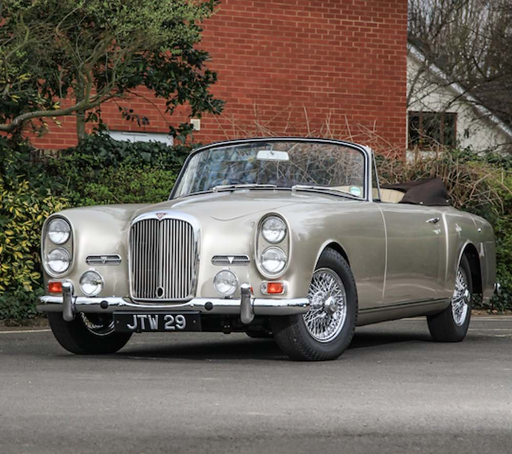 Lot 171 - 1964 Alvis TE21 Drophead Coupé by Park Ward