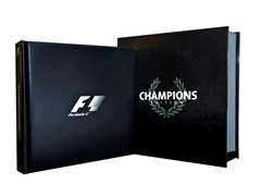Navigate to F1 Opus Champions limited edition book