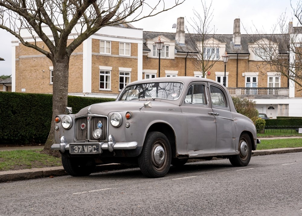 Lot 279 - 1961 Rover P4 100 Saloon