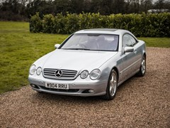 Navigate to Lot 221 - 2000 Mercedes-Benz CL 600
