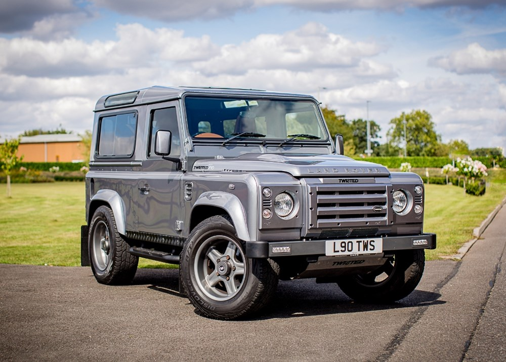 Lot 131 - 2011 Land Rover Defender 90 2.4TD XS (Twisted upgrade)