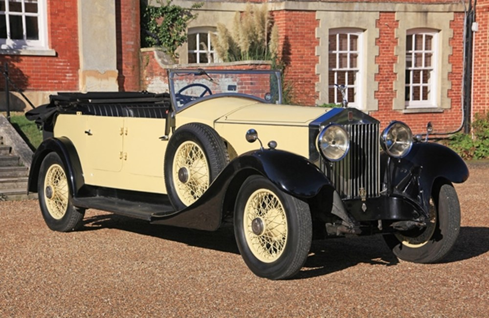 Lot 275 - 1929 Rolls-Royce Phantom I Open Tourer