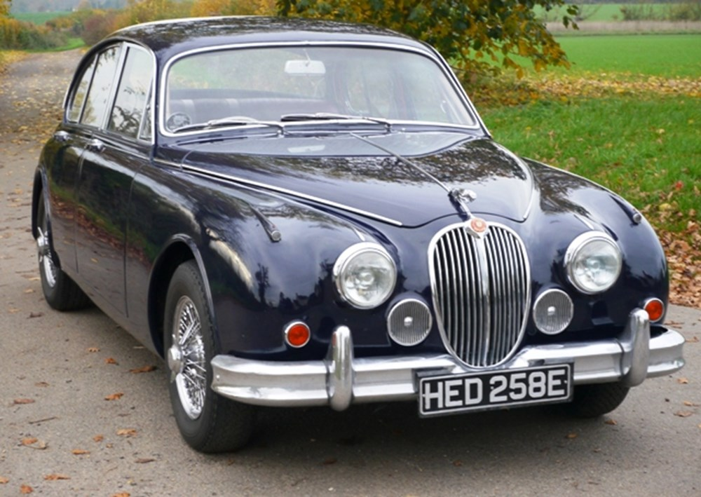 Lot 288 - 1966 Jaguar Mk. II Saloon (3.4 litre, M/OD)