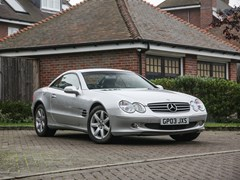 Navigate to Lot 201 - 2003 Mercedes-Benz SL 350