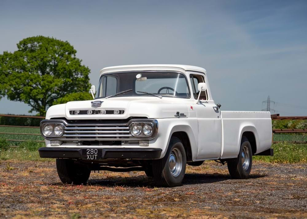 1959 Ford F100 Pick-up (Third Generation)