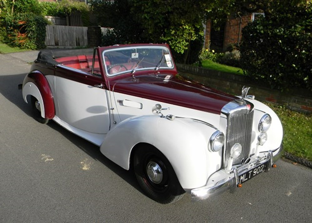Lot 259 - 1951 12840 TA21 Drophead Coupé by Tickford