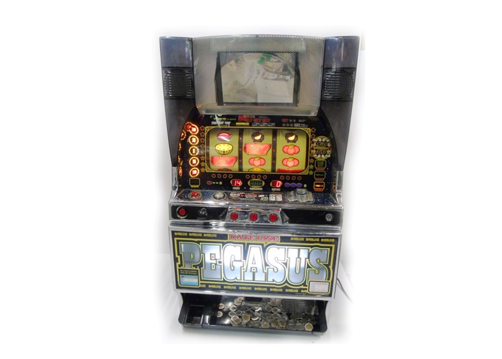 Lot 45 - Japanese Pachislo casino skill stop game