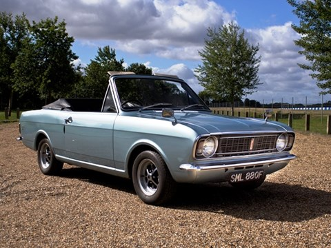 Ref 89 1967 Ford Cortina Mk .II 1500GT Crayford Convertible