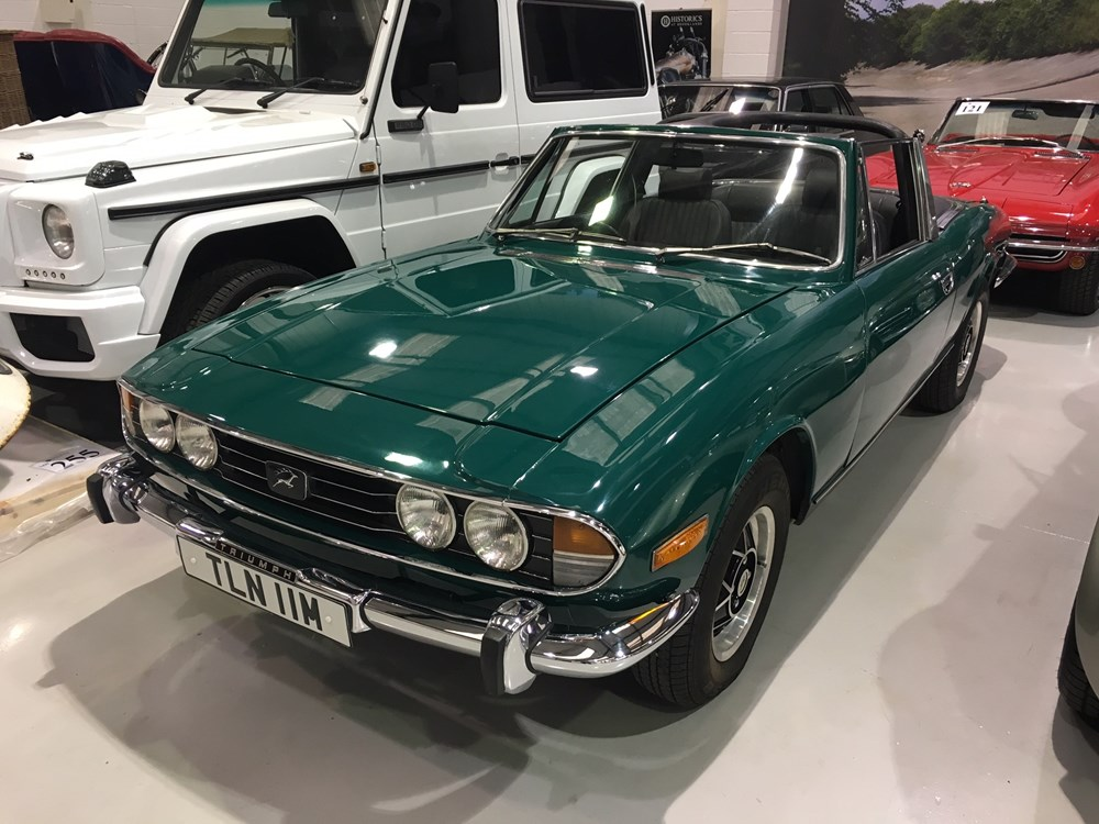 Ref 85 1973 Triumph Stag - Classic & Sports Car Auctioneers