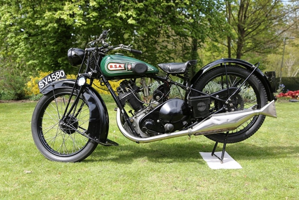 Lot 387 - 1929 BSA L29 350cc Sloper