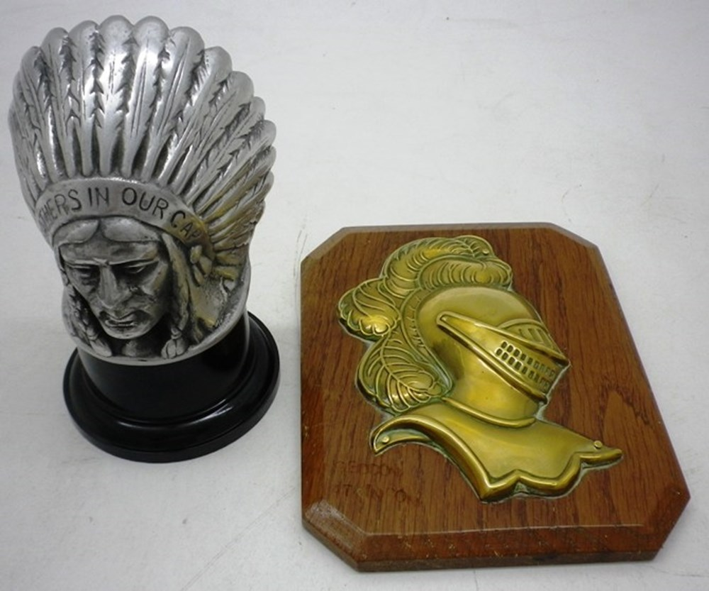 Lot 047 - Indian Head Mascot