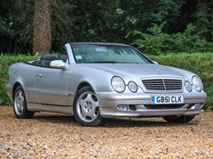 Navigate to Lot 258 - 2001 Mercedes-Benz CLK 320 Elegance