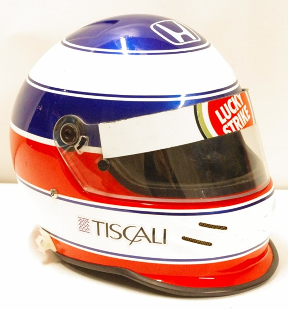 Lot 122. - Bell crash helmet.