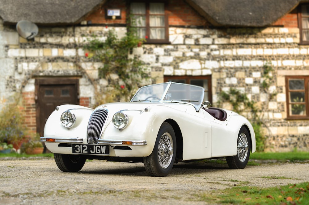 Lot 295 - 1954 Jaguar XK120 Roadster
