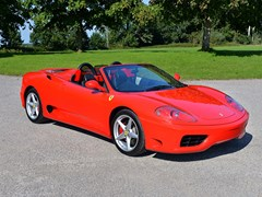 Navigate to Lot 160 - 2001 Ferrari F360 Spider